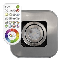Idual Quarto spot LED kleuren en remote