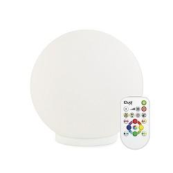 LED tafellamp bol met kleuren iDual