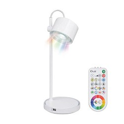 LED tafellamp IDual wit met kleuren