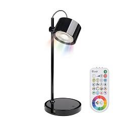 *Jasmine tafellamp LED IDual zwart