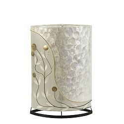 *Decoratieve tafellamp schelpen groot