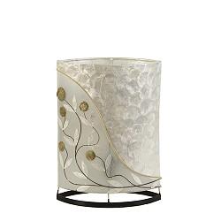 *Oosterse tafellamp met schelpen medium