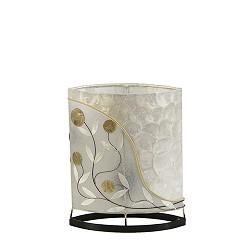 *Kleine tafellamp oosters met schelpen