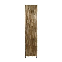 Landelijke houten vloerlamp bruin 150