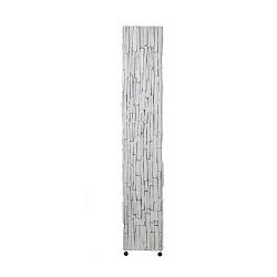 *White wash vloerlamp hout 150 cm