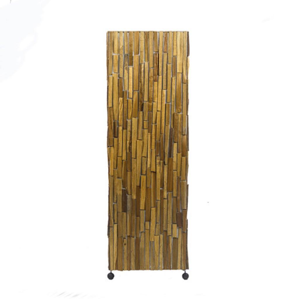 Sfeervolle houten staande lamp 100 cm