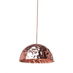 *Hanglamp trendy, design koper kleur