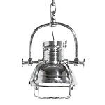 **Industriele hanglamp zilver keuken