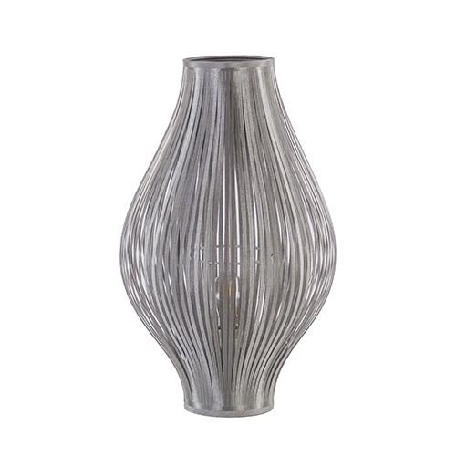 Sfeervolle tafellamp-lampion grijs