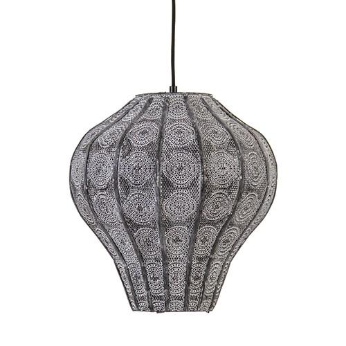 *Oosterse hanglamp grijs oriental