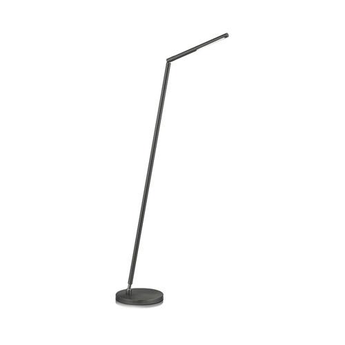 Zwarte leeslamp vloerlamp LED
