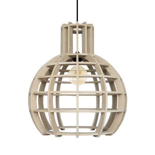 Hanglamp Globe Lingehof naturel keuken
