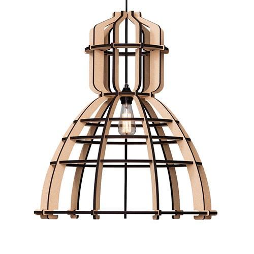 *Industrie hanglamp frame xl