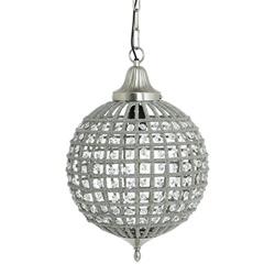 Light & Living hanglamp Cheyenne kristal 32 cm
