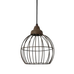 Light Living hanglamp Benthe roest