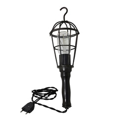 Kooi looplamp Worker zwart (hang) L&L