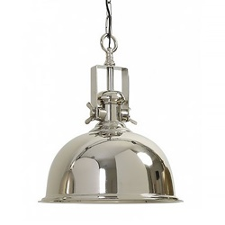 Light & Living hanglamp Kennedy zilver