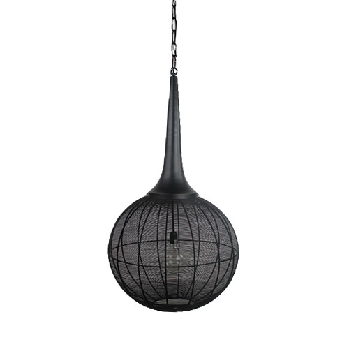 Light Living hanglamp Adrienne XL zwart