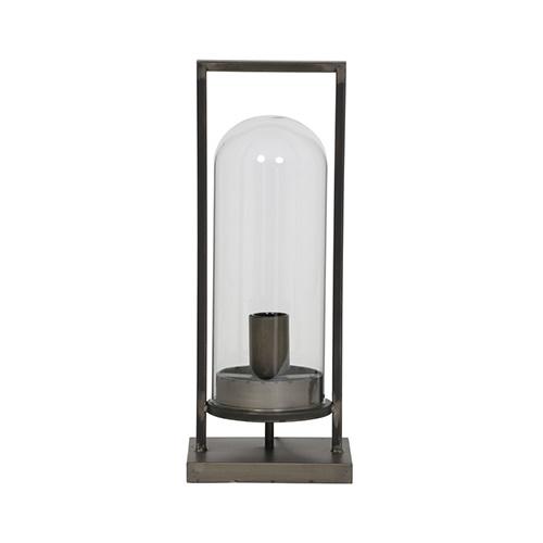 Industriele tafellamp lantaarn metaal