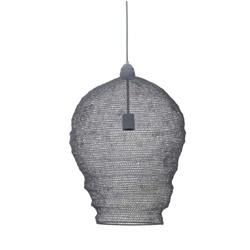 Hanglamp gaas groot grijs