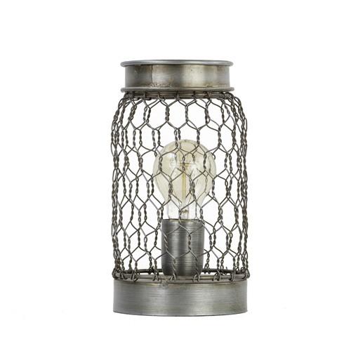 Light & Living tafellamp Tunas gaas/smal