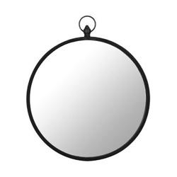 Spiegel rond zink 51cm