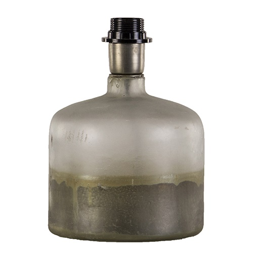 Tafellamp-lampvoet glas excl. kap