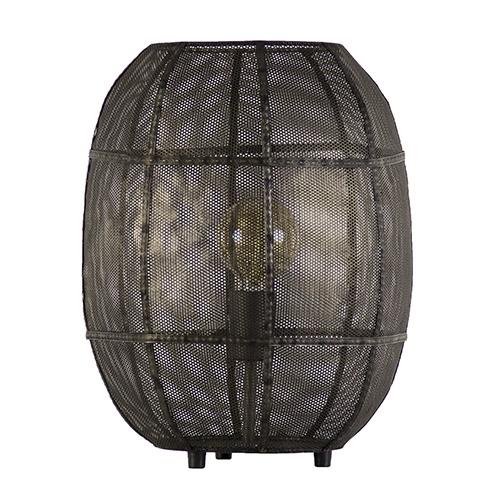 Decoratieve oud metalen tafellamp Akola