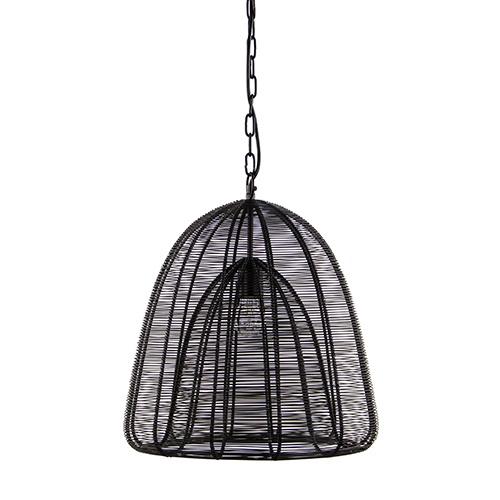 Moderne hanglamp Aurora zwart