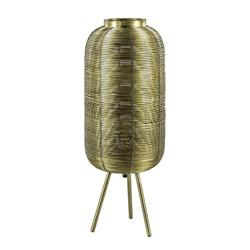 Driepoot tafellamp antiek brons Light & Living
