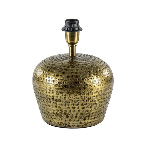 Ronde lampvoet Gondia antiek brons exclusief kap