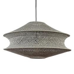 Light and living lampenkap Tarida donker taupe 60cm