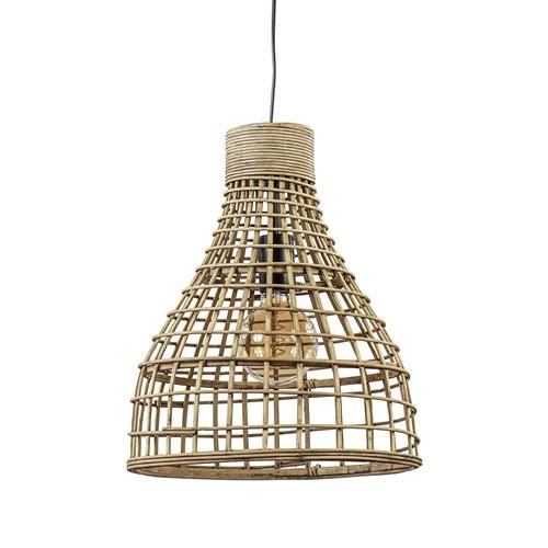 Botanische hanglamp Puerto rotan naturel