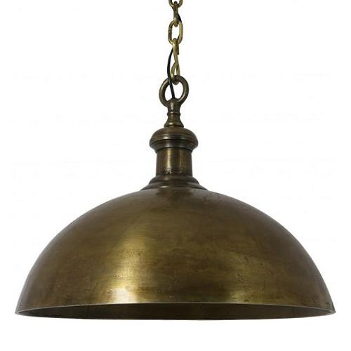 Landelijke hanglamp Adora antiek brons