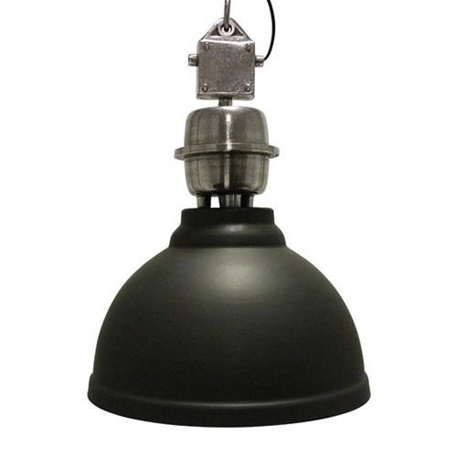 **Stoere industriele hanglamp antraciet
