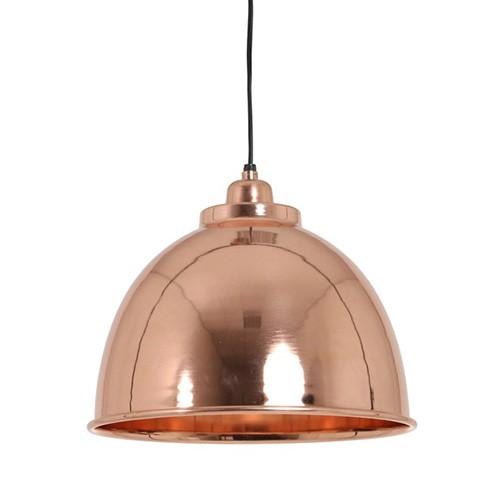 **Trendy hanglamp Kalie koper keuken