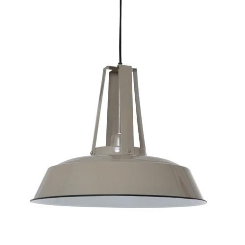 industriele hanglamp inez taupe straluma. Black Bedroom Furniture Sets. Home Design Ideas