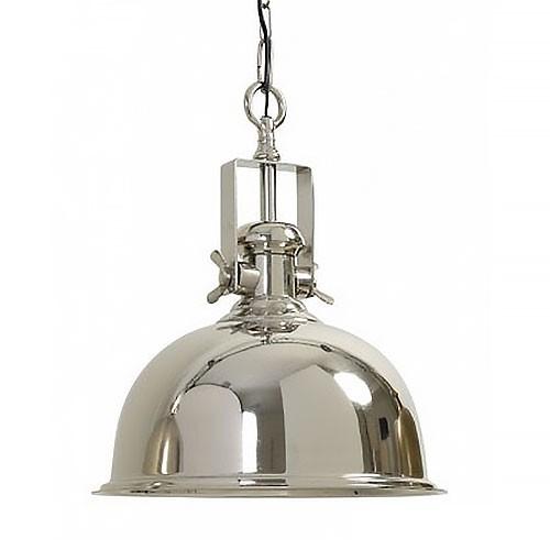 *Industriele hanglamp Kennedy zilver
