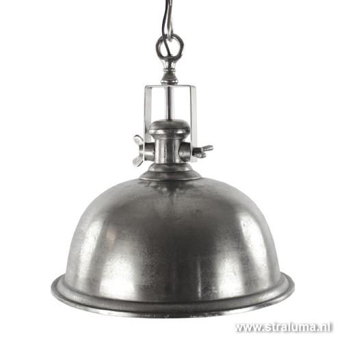 Landelijke hanglamp antiek zilver keuken