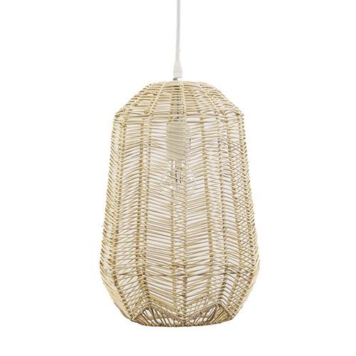 *Landelijke hanglamp hout Light & Living