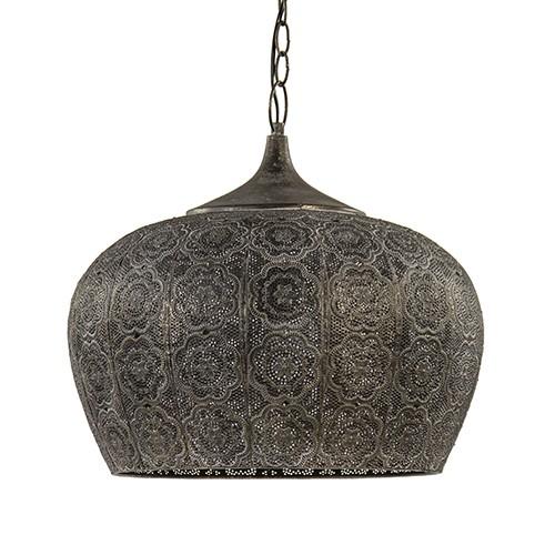 Oosterse hanglamp Emine goud/bruin