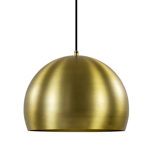 Hanglamp Jaicey matgoud light en living