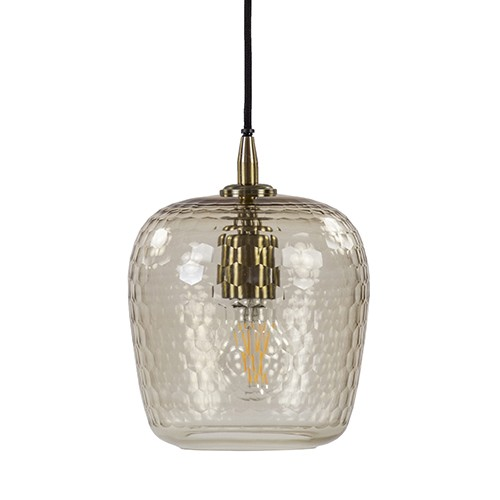 **Light & Living hanglamp Danita glas