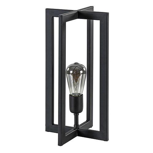 Light & Living tafellamp Mace mat zwart