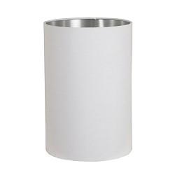 *Kap cilinder Horn wit / zilver