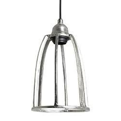 Antiek zilveren hanglamp Britt
