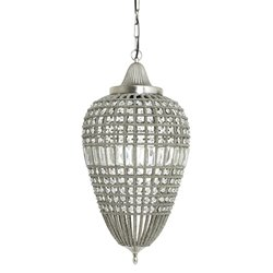 **Romantische hanglamp Charlene kristal