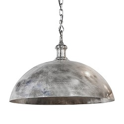 Koepellamp Adora zilver Light & Living
