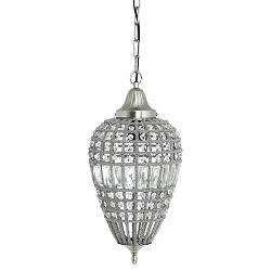 Light & Living hanglamp Charlene kristal