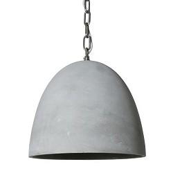*Stoere industriele hanglamp Halle beton